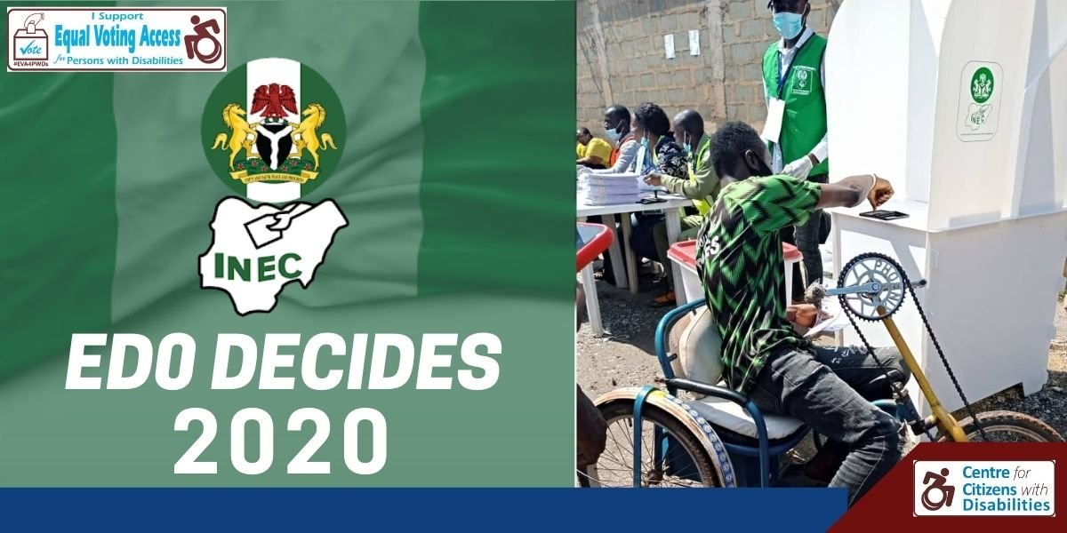 Campaign for Equal Voting Access: CCD commends INEC's in Edo Poll